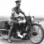 T.E. Lawrence Motorcycle Enthusiast.